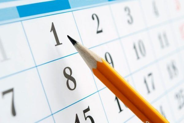 Calendario de fertilidad lapiz