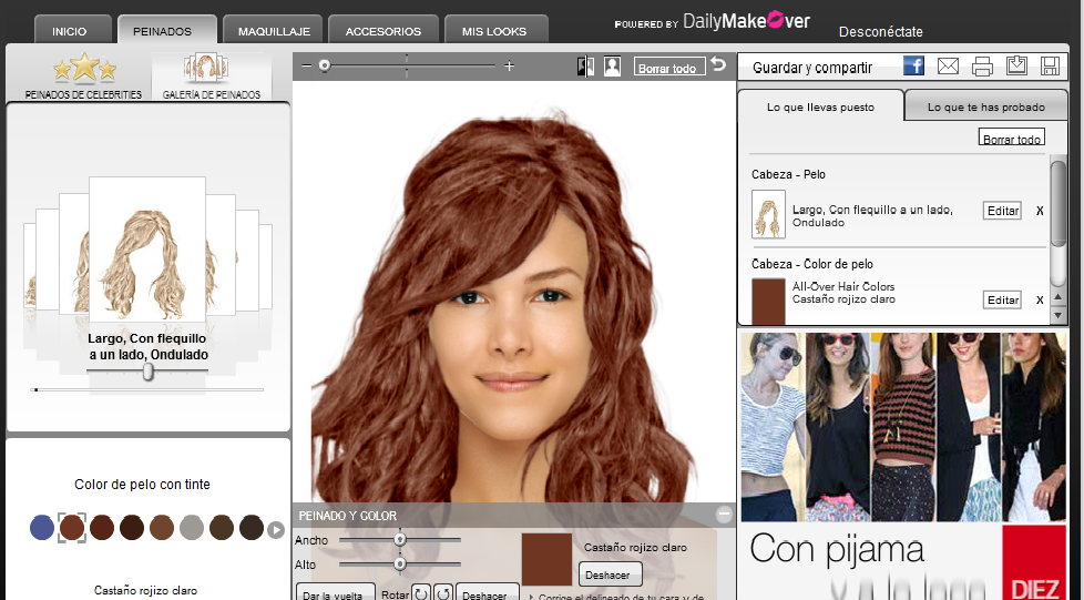 Programa para saber que color de pelo me queda bien