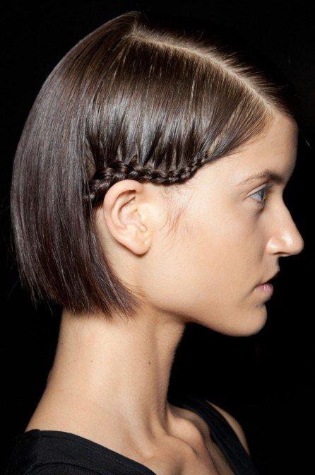Peinados Faciles Con Trenzas Para Cabello Corto Belzia Com