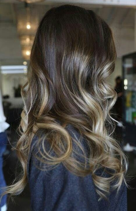 mechas californianas color natural