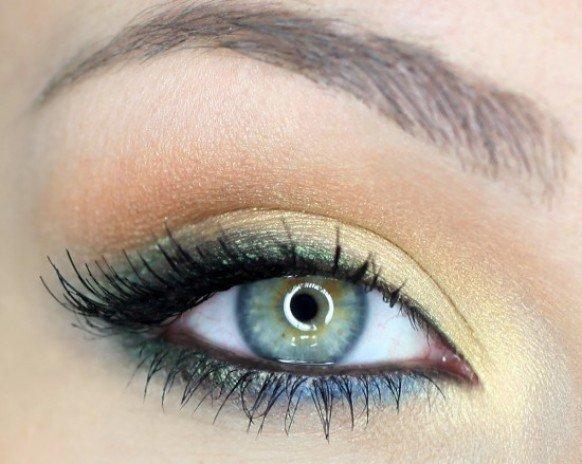 ojo difuminado