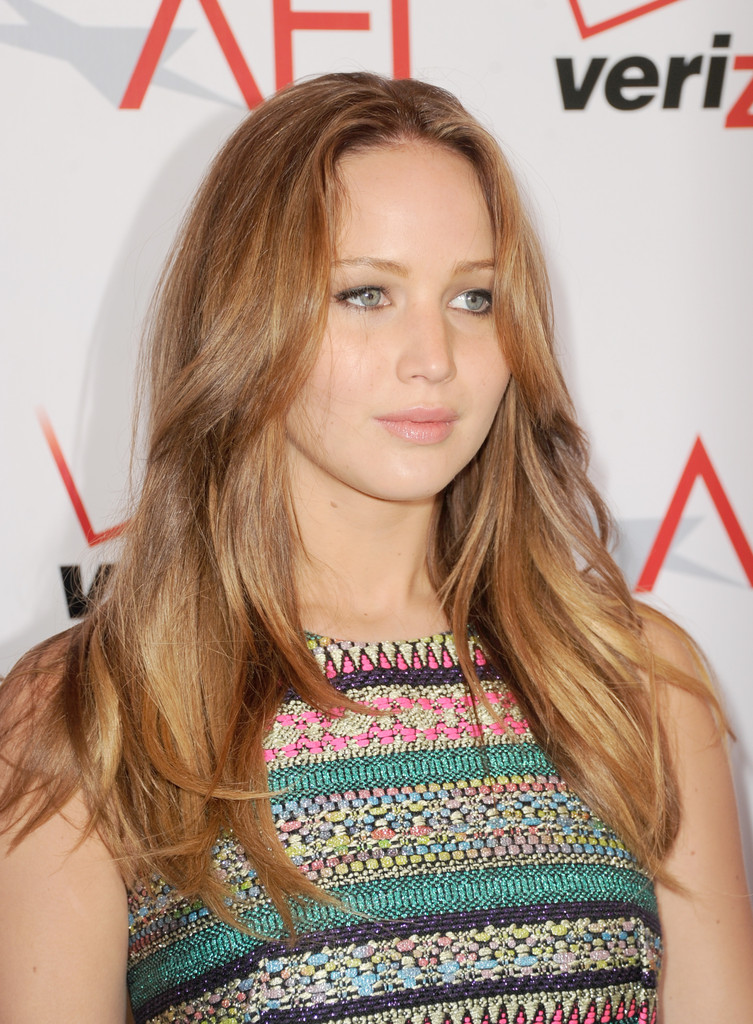 Jennifer+Lawrence+Long+Hairstyles