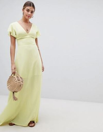los-vestidos-para-graduacion-largo-manga-de-angel-pretty-little-thing-asos-design