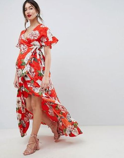 ropa-premama-vestido-asos-verano-jacquard-floral-maternity-asos