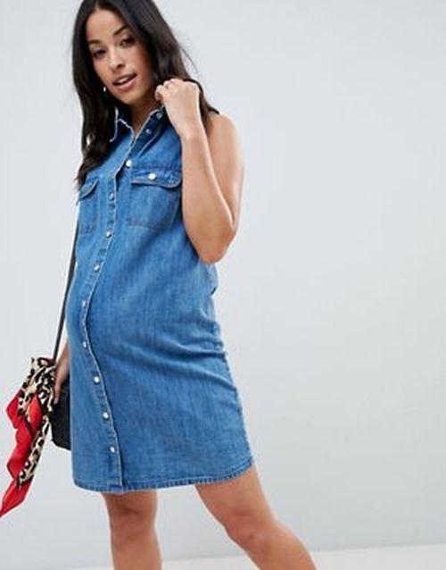 ropa-premama-vestido-asos-verano-vaquero-asos-design