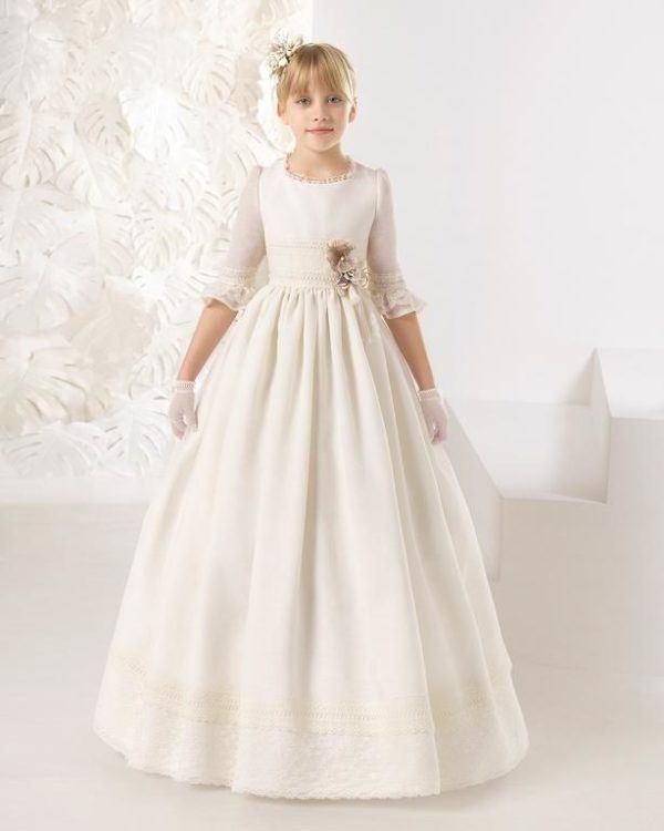 Vestidos elegantes para comuniones 2019
