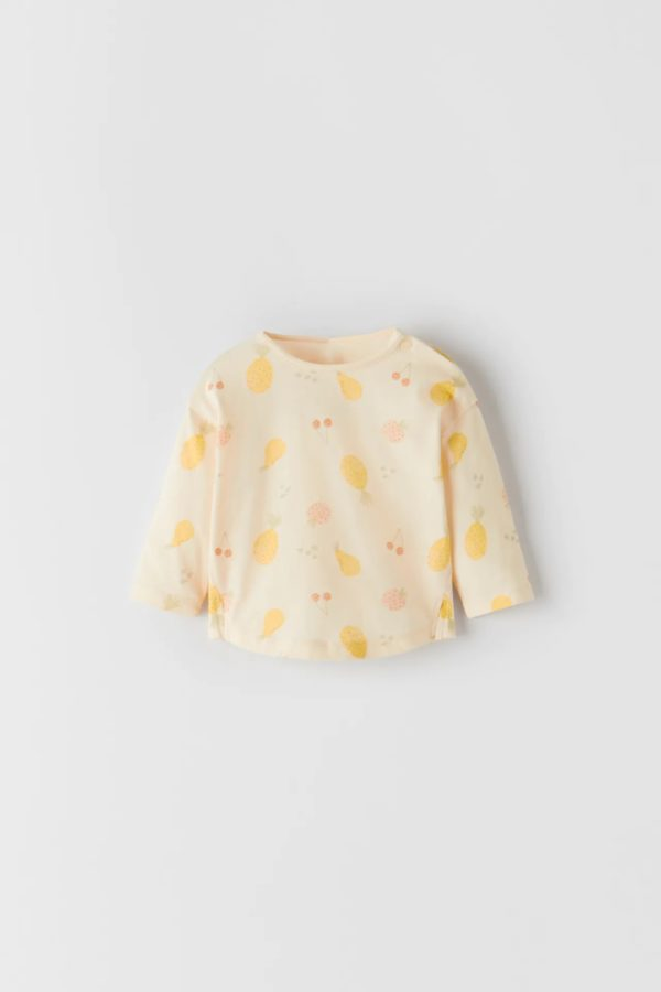 Catalogo zara kids bebes camiseta estampada