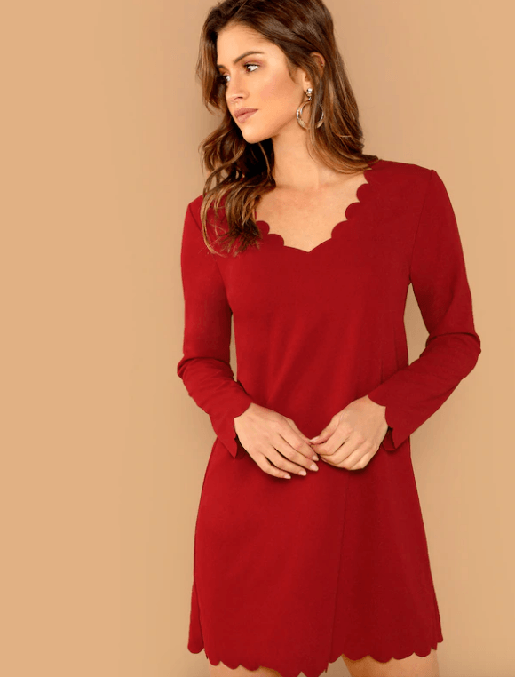 Vestidos rojos para graduacion de secundaria