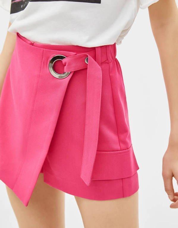 rebajas-bershka-falda-pantalon-cinturon