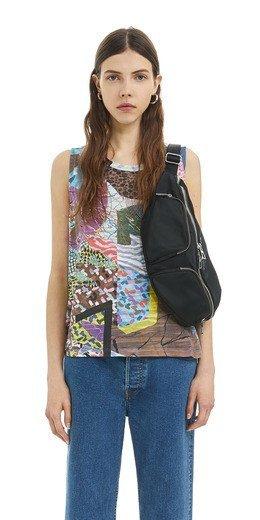 rebajas-bimba-y-lola-camiseta-devore-multicolor