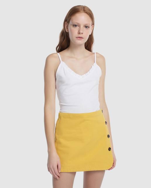 rebajas-el-corte-ingles-falda-pantalon-color-mostaza-elcorteingles