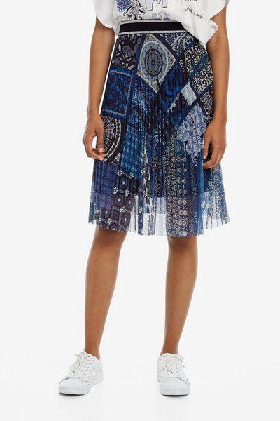 rebajas-desigual-faldas-evase-azul-patchwork
