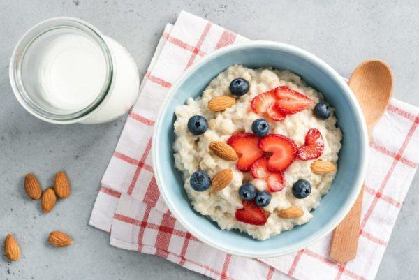 Receta de Porridge de avena