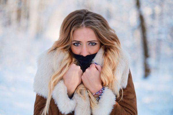 El cabello en invierno