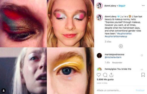 maquillaje-euphoria-ojos-amarillos-woman-punto-es
