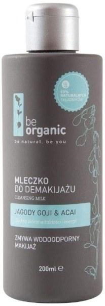 leche limpiadora be organic