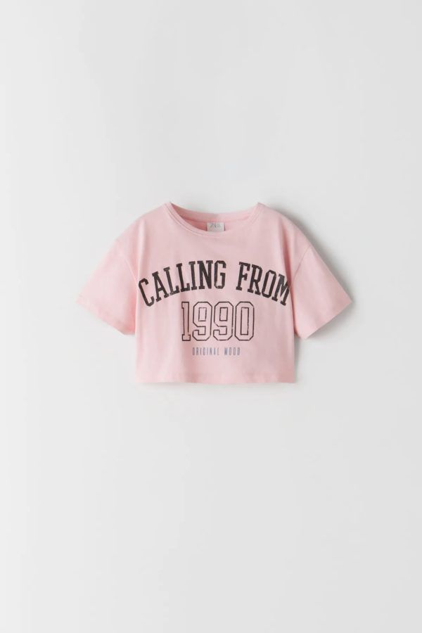 Catalogo zara kids camiseta estampada