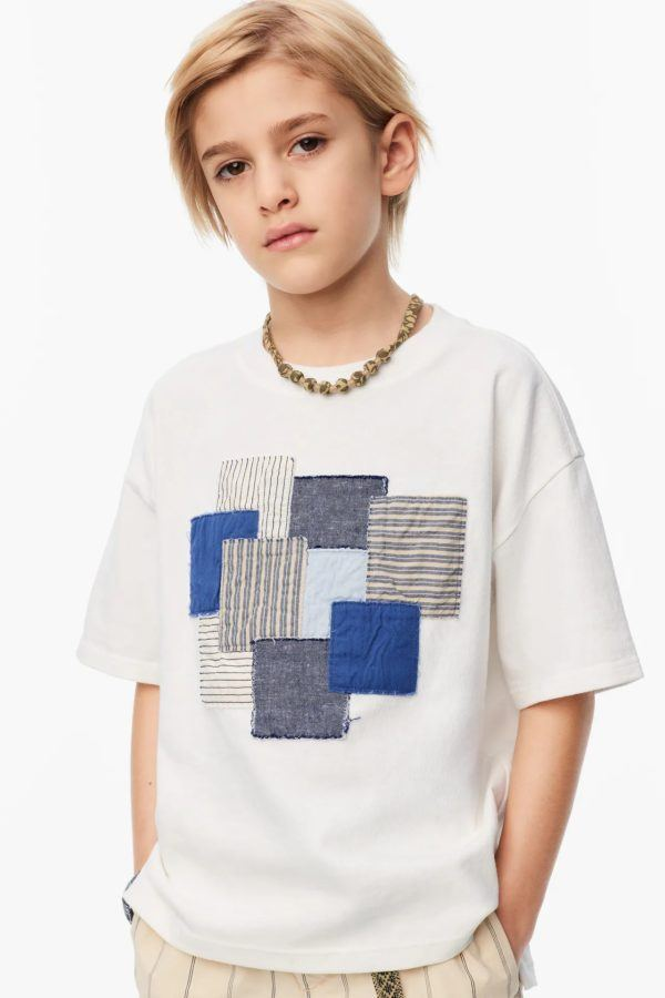 Catalogo zara kids camiseta parches