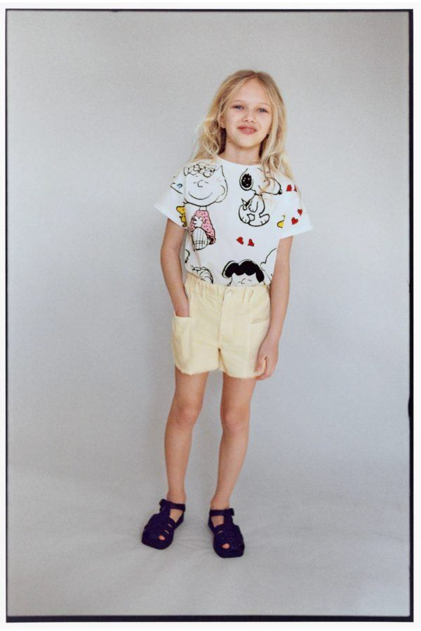 Catalogo zara kids camiseta snoopy
