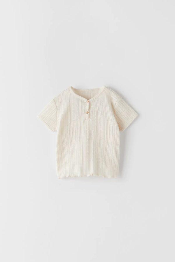 Catalogo zara kids camiseta textura