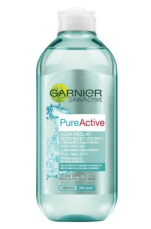 desmaquillantes garnier agua micelar pure active