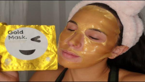 Gold Mask Mercadona