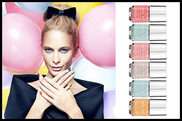 decoración-de-uñas-para-la-noche-de-verano-2014-decoración-colores-pastel