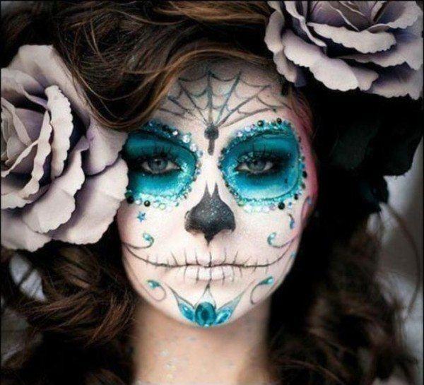 maquillaje-de-mascara-mexicana-para-halloween-2014