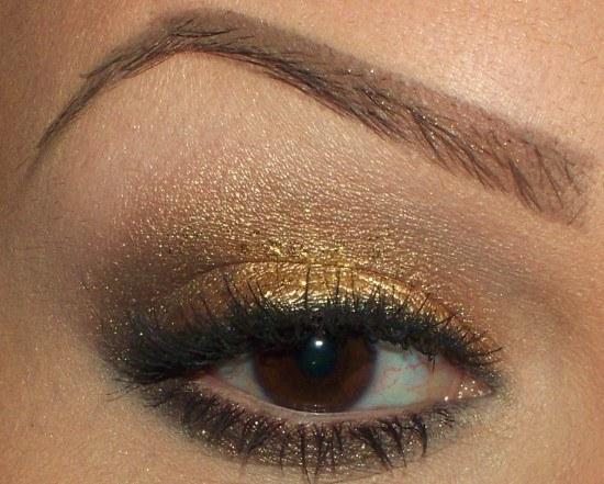 maquillaje-fiesta-2014-tonos-dorados