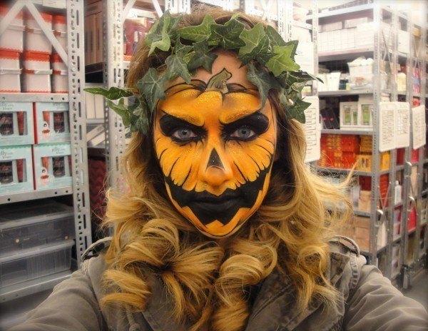 maquillaje-para-halloween-2014-calabaza