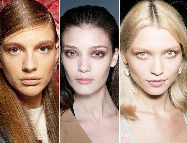 maquillaje-para-la-noche-de-verano-2014-maquillaje-nude-ojos-sombras-terracota-y-suaves