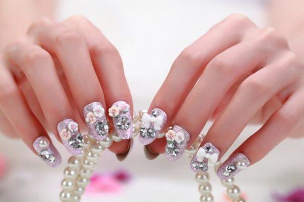 modelos-de-uñas-pintadas-diseño-manicura-2015-manicura-de-fiesta